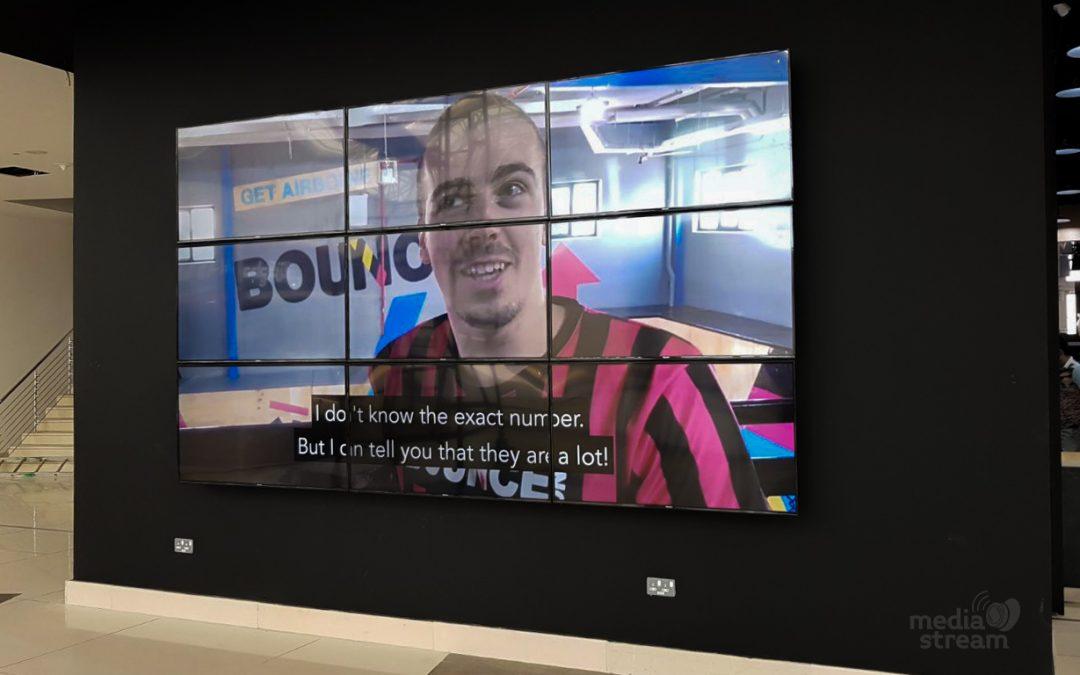 Video zid BOUNCE Sportskog Centra u Dohi