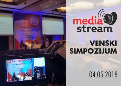 Video Striming Venskog Simpozijuma u organizaciji klinike za kardiovaskularnu hirurgiju Kliničkog Centra Srbije