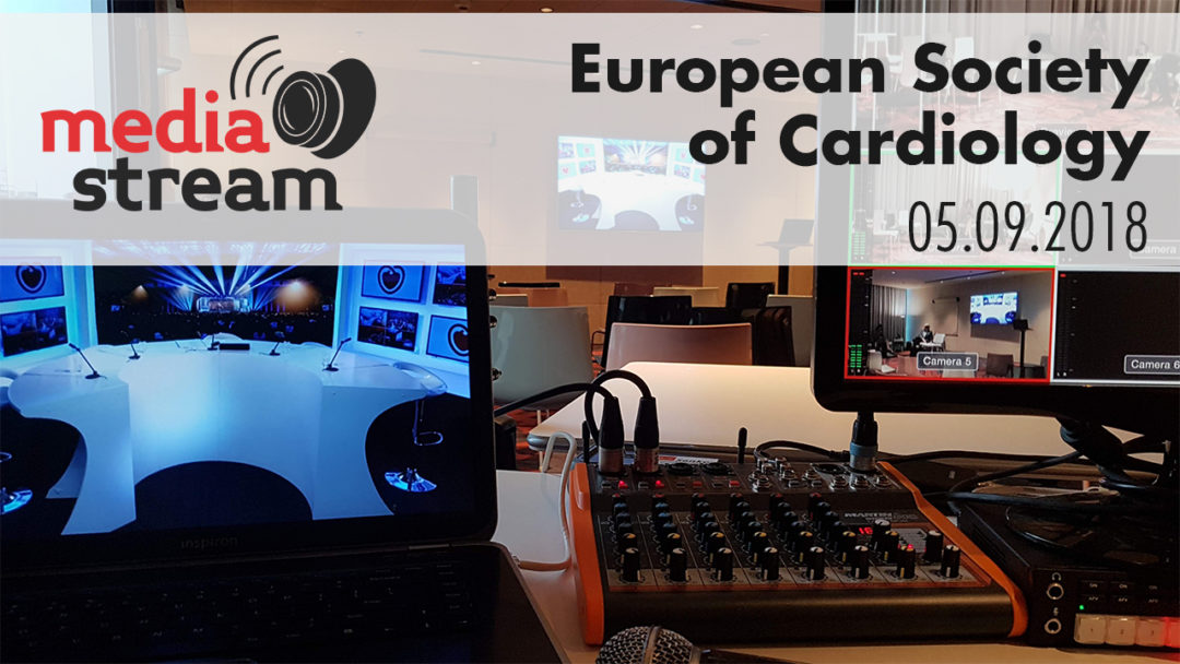 Video Striming European Society of Cardiology Meet Up-a