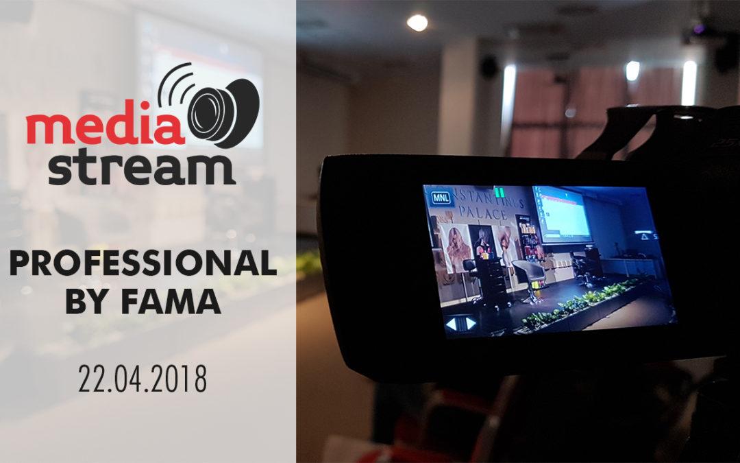 Video Striming eventa u organizaciji Professional by Fama brenda